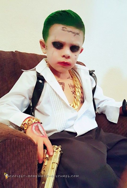 cool the joker costume - Coolest Kids Halloween Costumes