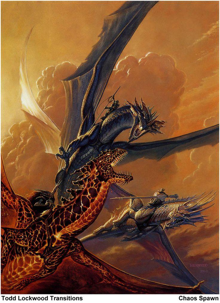 todd lockwood - dragon