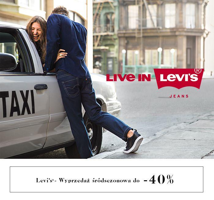 Levis wyprzedaz srodsezonowa do -40% #branpl #brand #levis #wyprzedaz #srodsezonowa #sale #sale40