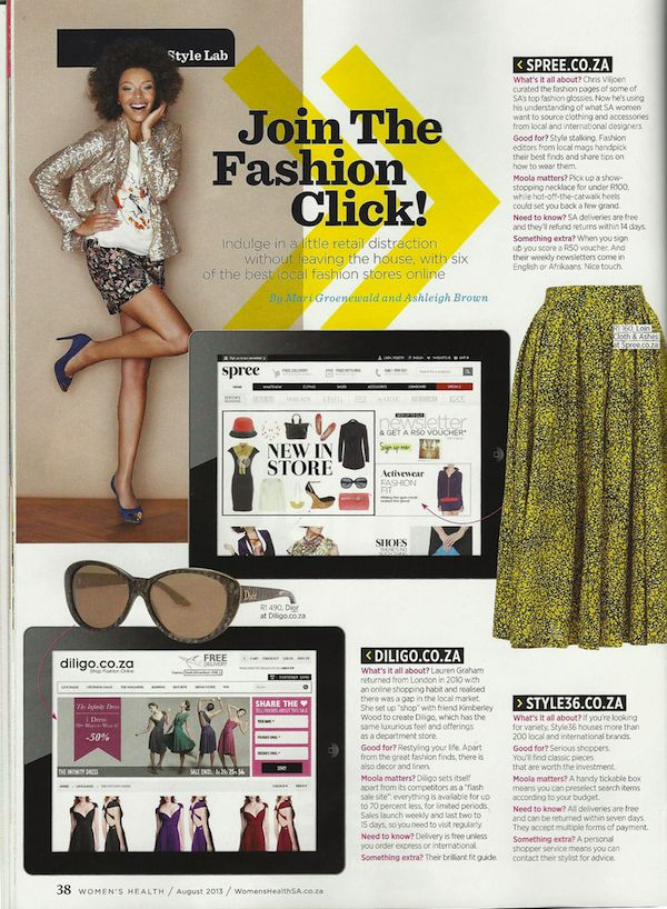 Our little feature in the August issue of @Women's Health in stores now :)