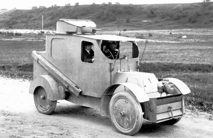 CGV voiture blindée (30CV) '1906