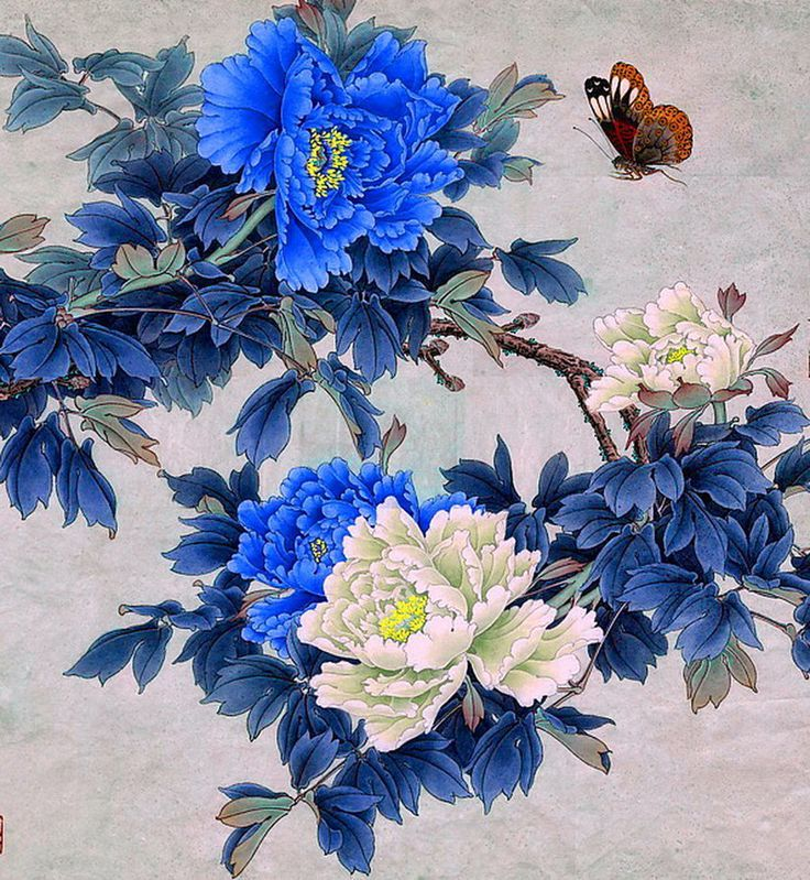 Found on Bing from www.pinterest.co.kr Peony painting