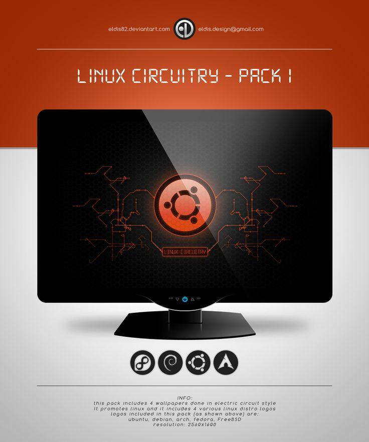 Linux Circuitry - Pack I by EldiS82.deviantart.com on @deviantART