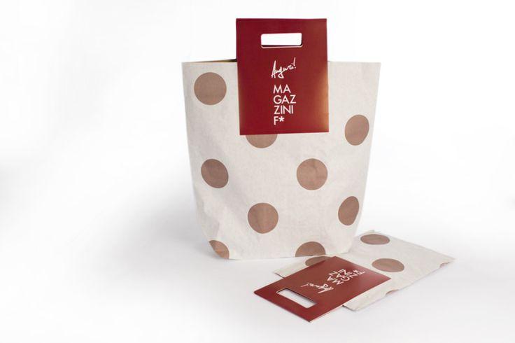 Avana paper bag for Magazzini F* / Giustacchini Packaging