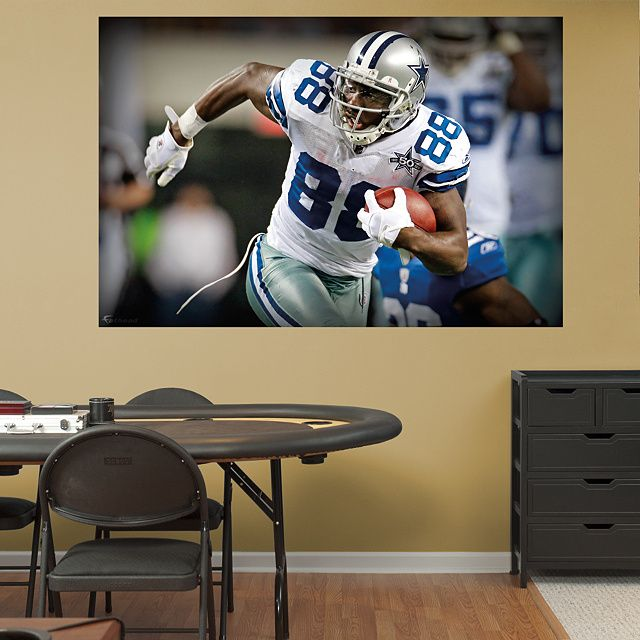 dallas cowboys bedroom decor. Dez bryant in your face mural fathead peel stick wall cowboy Graphics For Dallas Cowboys Wall  www graphicsbuzz com