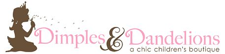 Dimples and Dandelions Chic Children's Boutique