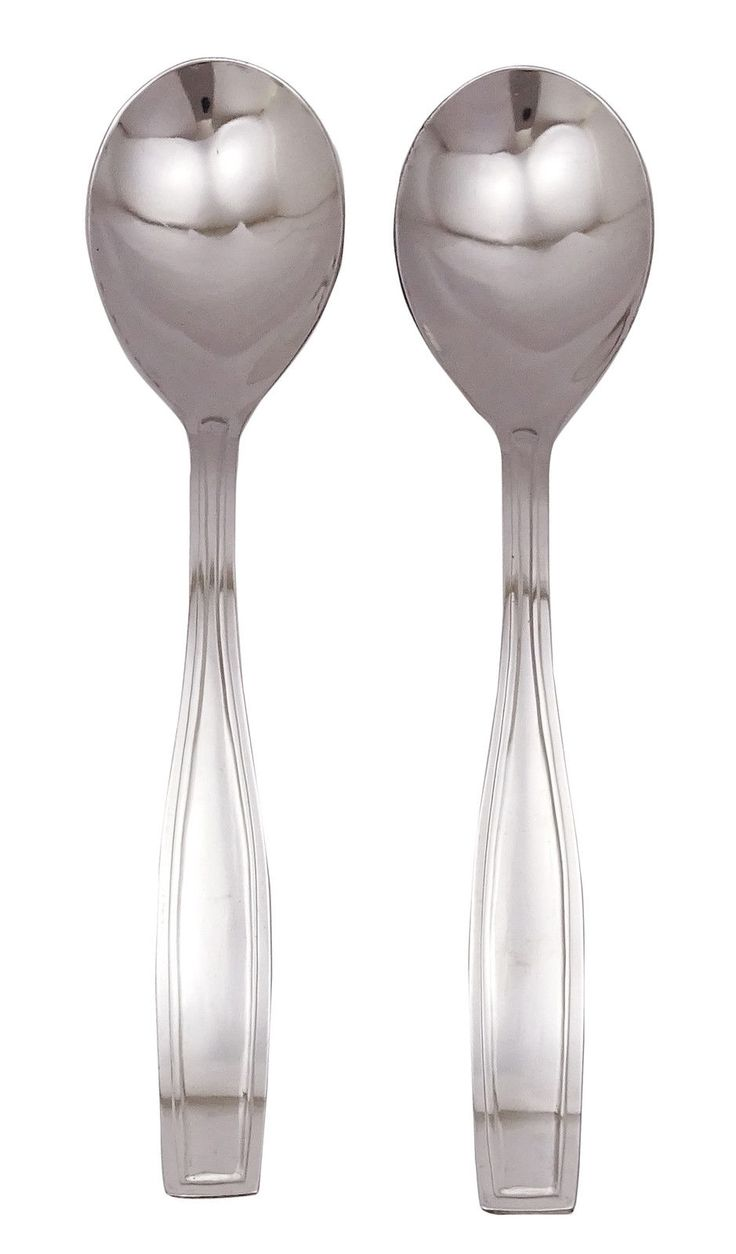 Gaffel Stainless Steel Serving Spoon Kitchen Flatware22.3 Cm (Set Of 2)