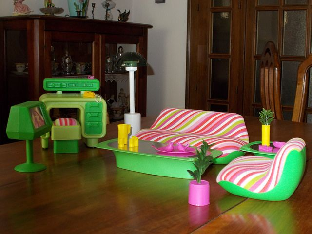 SALONE BARBIE 1980 SERIE DREAM FURNITURE By Fatabenefica, Via Flickr Part 94