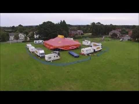 Holmer Green Circus from the air - YouTube
