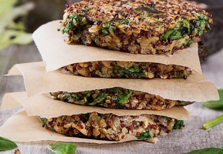 Placičky s quinoou a fazolemi