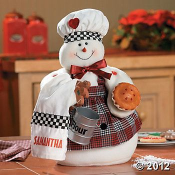 *SNOWMAN COOK