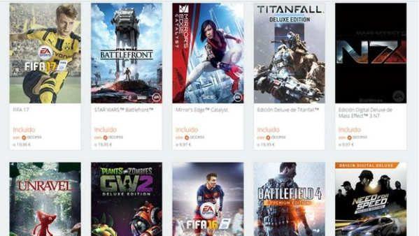 EA presentó ayer en el E3 2017 sus novedades de los próximos meses. Nuevas IP como Anthem y A Way Out, nuevas expansiones de Battlefield 1 y nuevos títulos de sus franquicias emblemáticas FIFA 18, NBA Live 18, etc.Para celebrar esta presentación, y también como agradecimiento por el éxito de su iniciativa solidaria Play-to-Give, permite jugar gratis durante una semana a las versiones completas de casi 100 juegos de PC,...