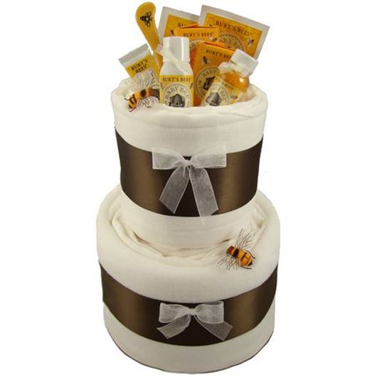 Burts Bees Themed Special Edition Cloth Diaper Cake