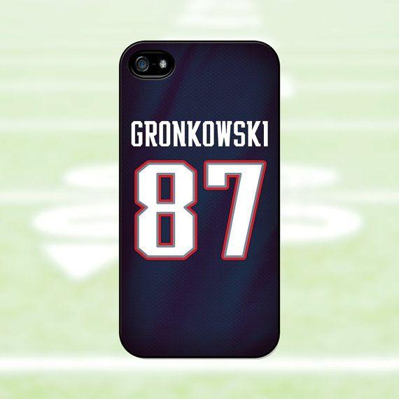 Rob Gronkowski - New England Patriots Case: iPhone 4, 4s, 5, 5s, 5c / Samsung Galaxy S3, S4, S5 on Etsy, $16.99