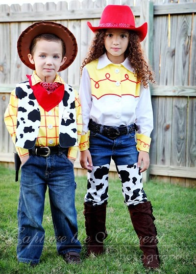 perfect woody and jessie costumes - Toddler Jessie Halloween Costume
