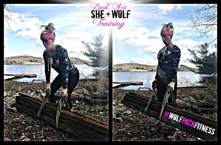 """It's a been a beautiful fall so far here in New England and the crisp air has only enhanced the training here at WolfPack Fitness.   When you're working with passion, heart, and intensity it doesn't take long to get the blood flowing and your temperature rising!  Check out Angela finding SOLUTIONS over excuses as she deadlifts this hunk of wood we found by the river bank. Remember, as WolfPack Trainer Keith Perry says, """"You don't need to lift weights, you just need to lift WEIGHT.""""  So…"""