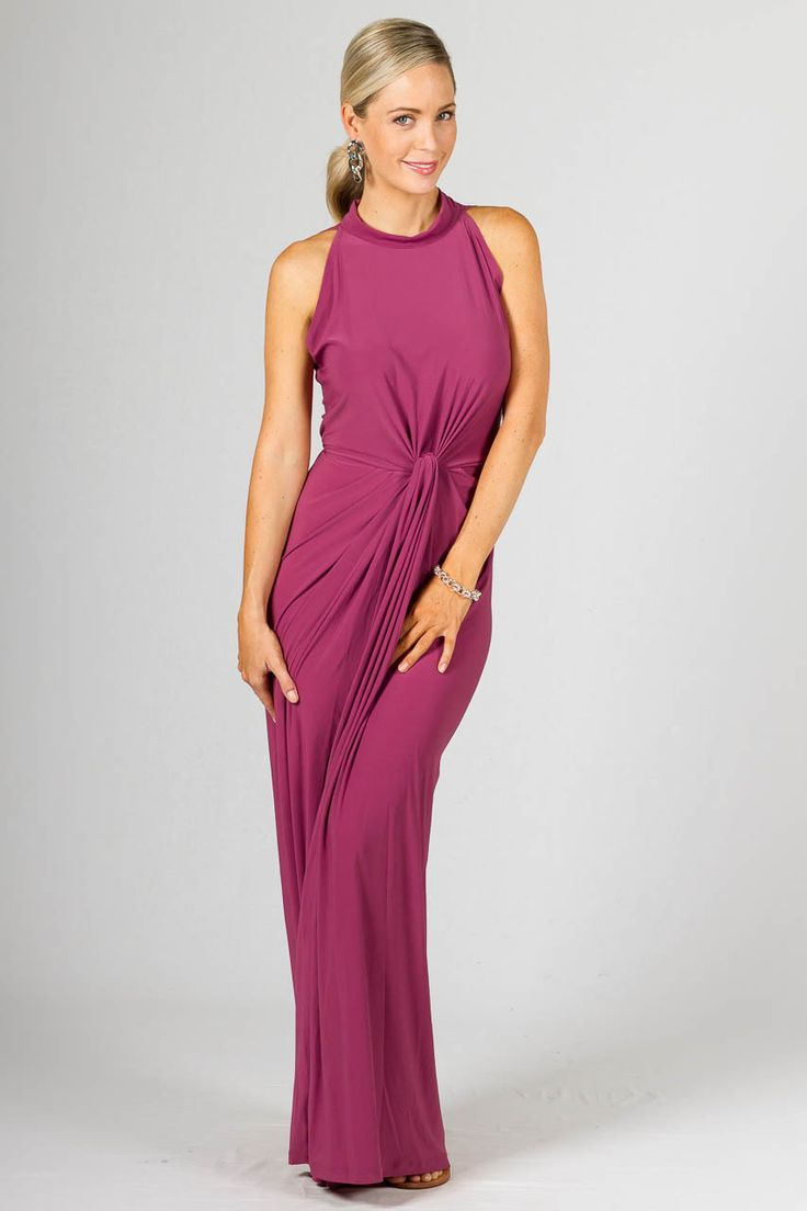 Claudia Maxi Dress, Blush - Available Online