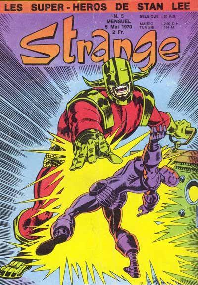 Couverture de Strange -5- Strange 5