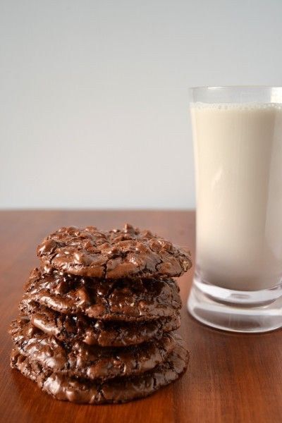 chocolate puddle cookies chocolate pudding cookies flourless chocolate ...