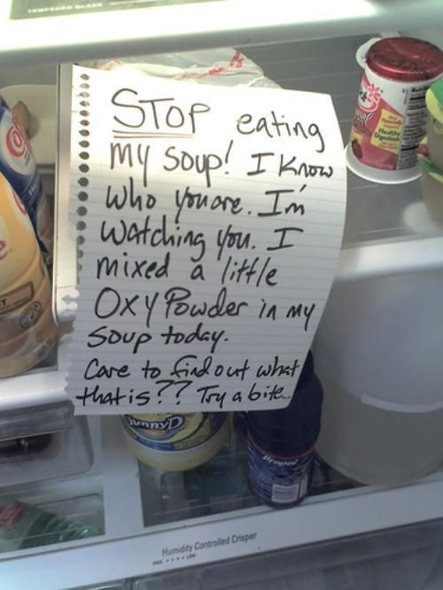 Lunch Notes 16 Whoa, Your Hungry Passive Aggressive Co Worker Is Hungry (24  Photos