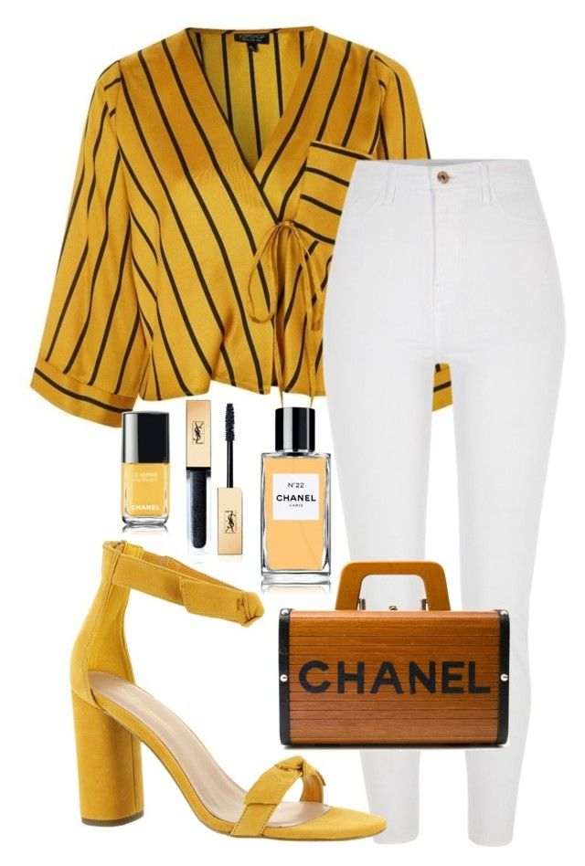 """""""Untitled #329"""" by streetstyle21 on Polyvore featuring Topshop, BCBGeneration, Chanel and Yves Saint Laurent"""