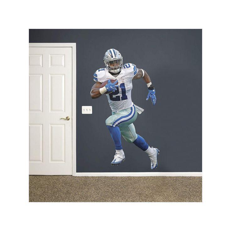 Dallas Cowboys Ezekiel Elliot Wall Decal by Fathead, Multicolor