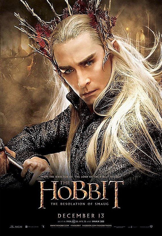 The Hobbit  2 - Thranduil - Counted cross stitch pattern in PDF  format by Maxispatterns on Etsy