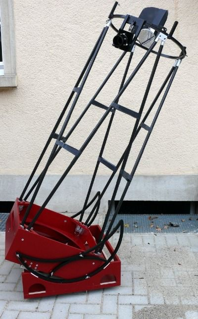 "Timm Klose 20"" f/4 ultralight portable dob, aluminium"