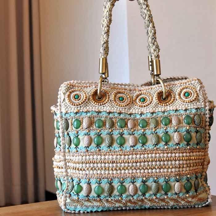 Брендовые сумки крючком