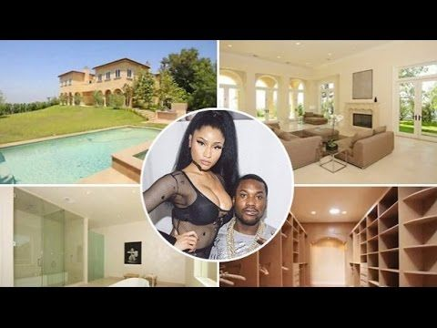 Nicki Minaj and Meek Mill New House 2016Inside & Outside$30,000 Month Ma...