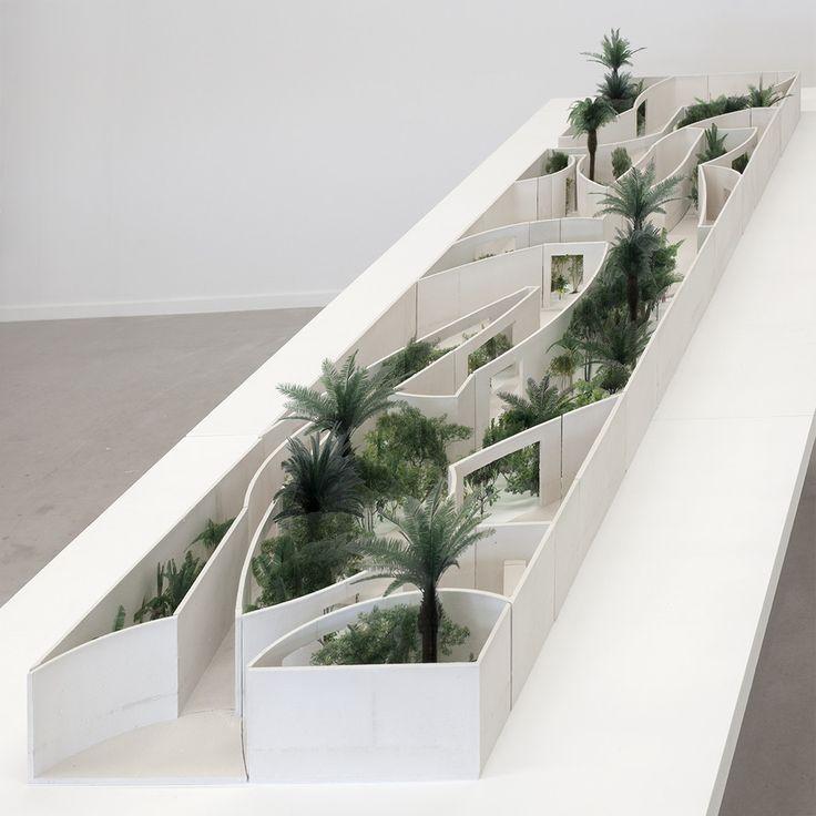 <p>Bahrain Pavilion, Competition Model, Studio Anne Holtrop, 2014</p>