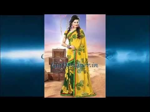 Exclusive Spring Summer Sarees Collection by GiaDesigner.in