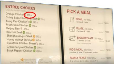 202 Best Images About Menu Labeling On Pinterest Giant