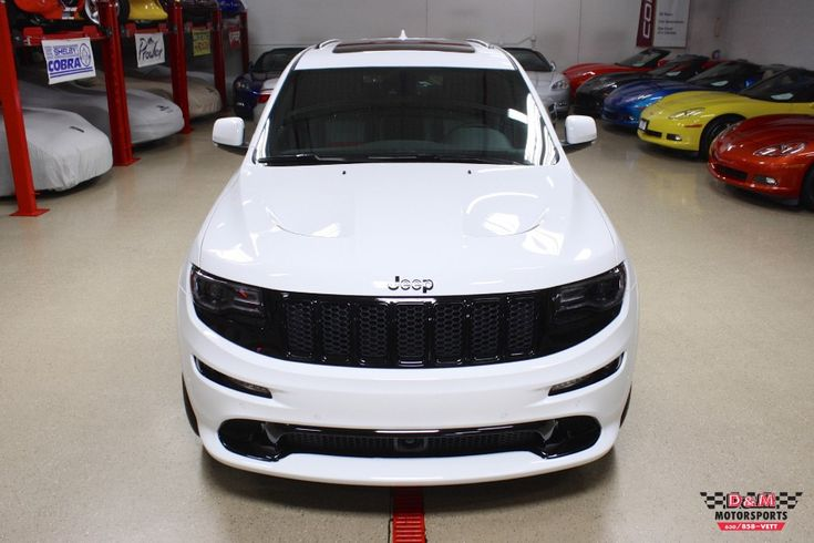 2015 Jeep Grand Cherokee SRT Red Vapor Edition - [The Red Vapor Edition includes numerous special touches, including red interior accents in the seating and doors].