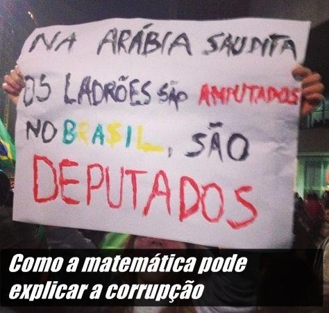 Em tempos tão agitados aqui no Brasil, eis uma teoria que pode explicar a relação entre corrupção, legislação brasileira e análises de sistemas complexos adaptáveis.