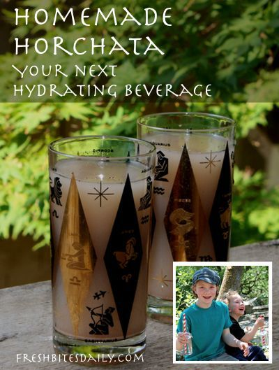 Homemade horchata: Your next hydrating beverage | Fresh Bites Daily