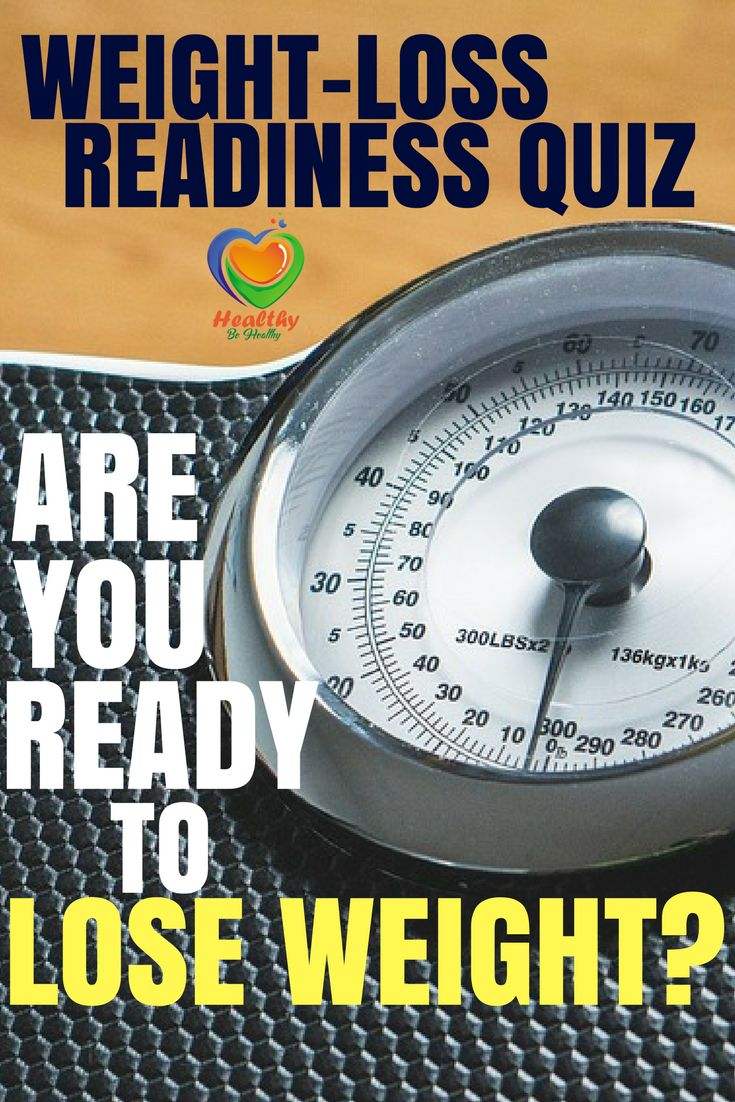 Weight-Loss Readiness Quiz