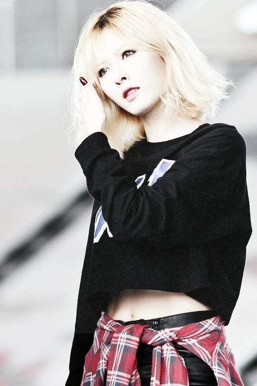 Kim Hyuna I Really Like Hyuna S New Short Hairstyle I