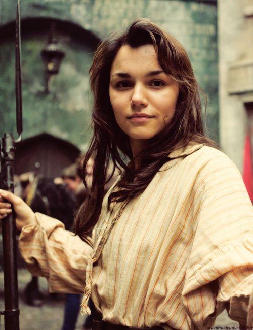 Les Mis (2012)   Samantha Barks (Eponine) on the set of Les Misérables, the movie musical.
