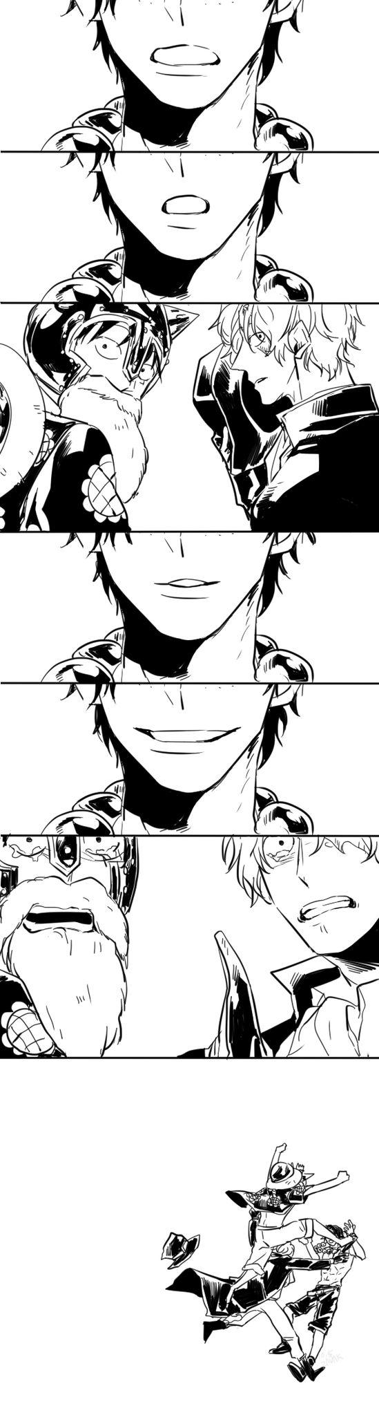 leele los Labios a Ace y te daras cuenta que dice ''Sabo'' y ''Luffy''