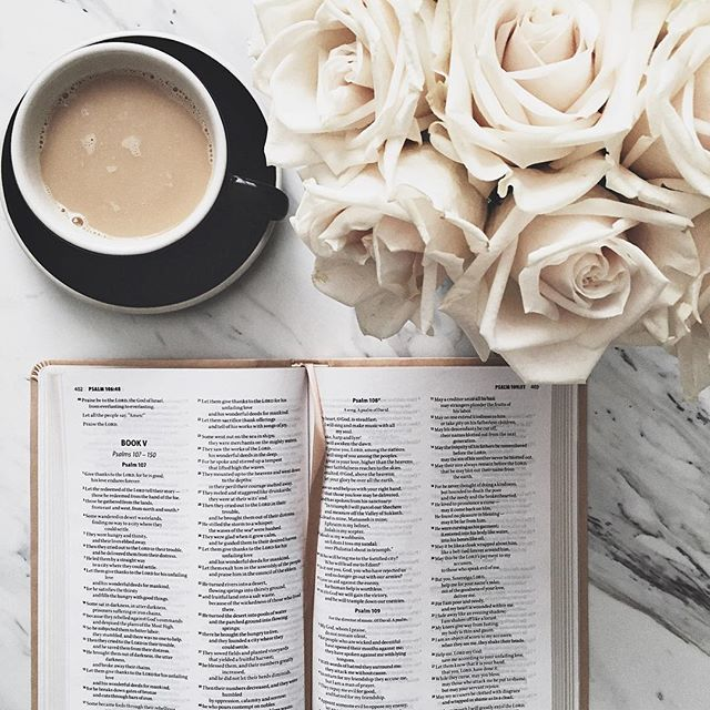 My favorite time of the day #mornings #psalms // @nycsisterhood