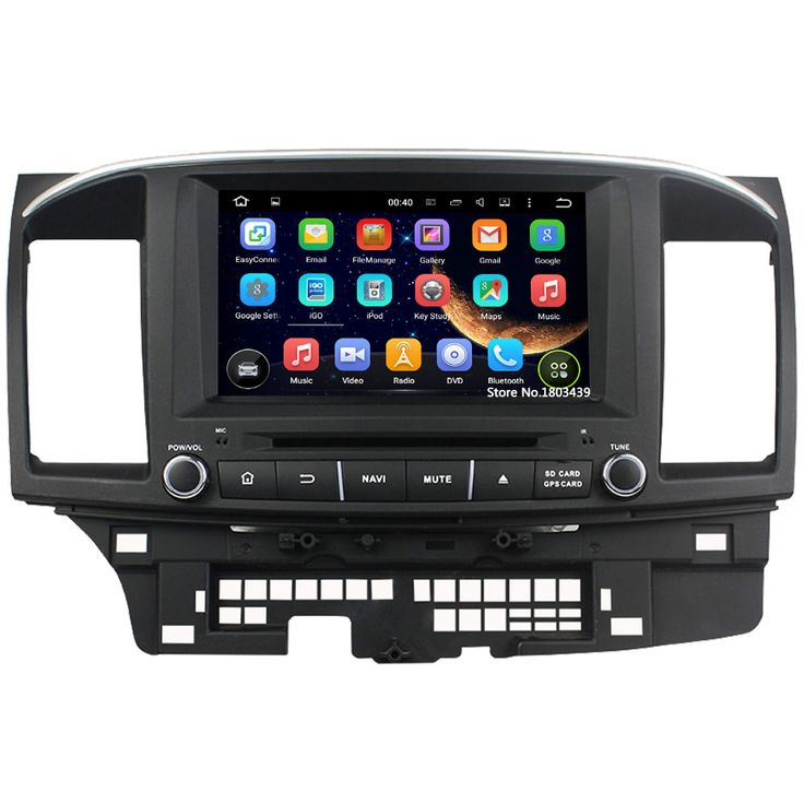 """Quad Core 8"""" 1024*600 2Din Android 5.1.1 Car DVD Video Player Radio FM DAB+ 3G/4G WIFI GPS Map For Mitsubishi Lancer 2014 2015"""