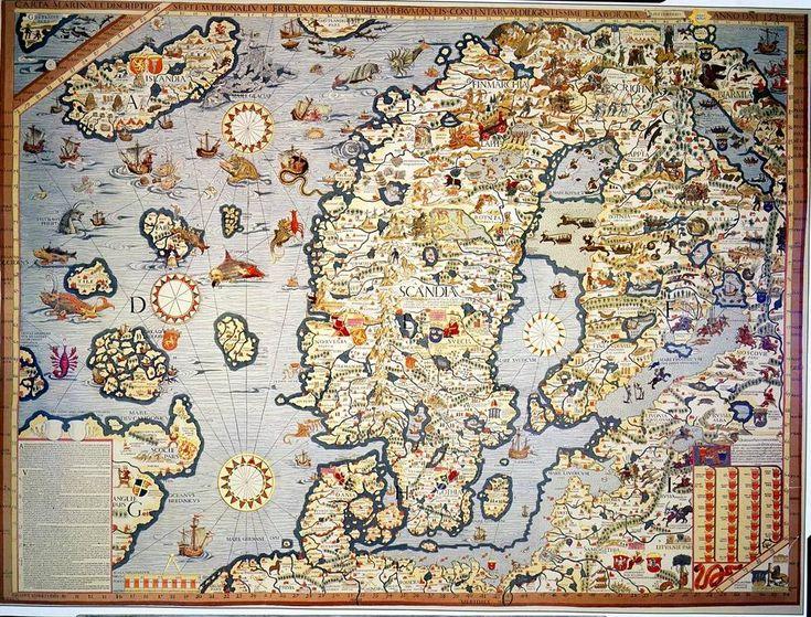 Suomi eli Finlandi löytyi kartalta jo liki 600 vuotta sitten – aluksi tosin saarena