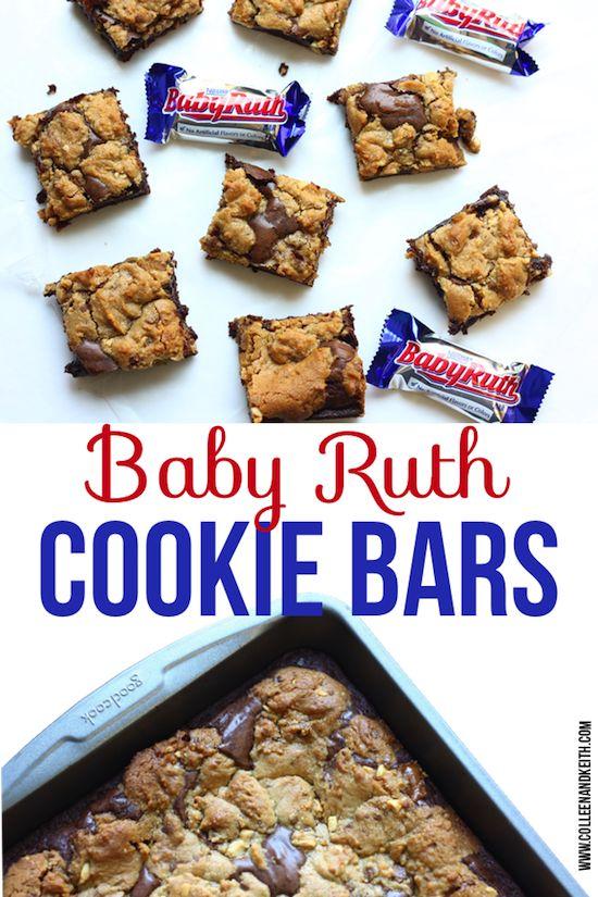 Dinner Made East + Baby Ruth Cookie Bar Recipe. #ad #NestleSchoolDays