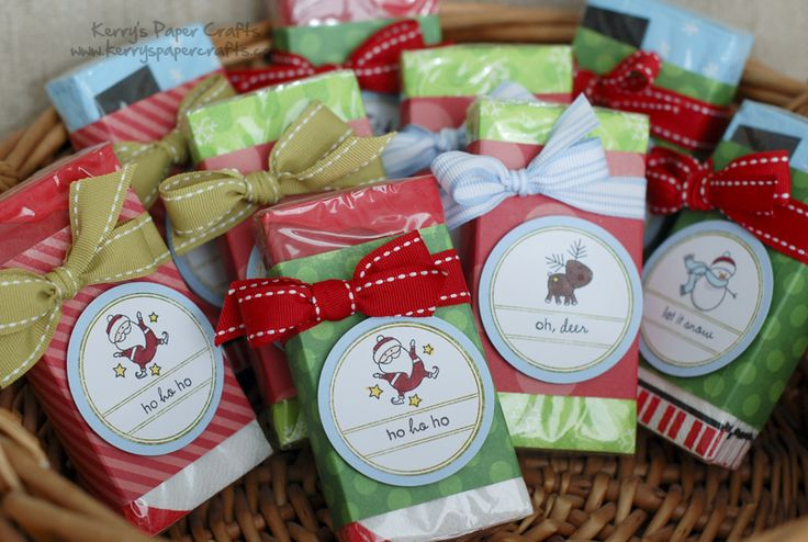 Christmas Crafts To Sell At Bazaar : Christmas kleenex stocking stuffers so many ideas