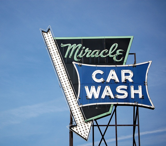 Miracle Car Wash by suttonhoo, via Flickr