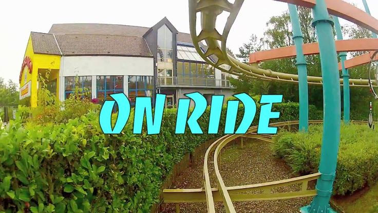 Dream Catcher - Roller Coaster - On Ride - Front Seat - Bobbejaanland - HD