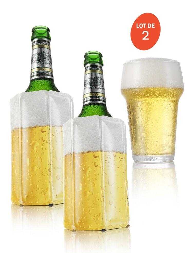 Refroidisseurs rapides pour bouteilles de bière - Pas de bière au frais ? Pas de problème ! - Bouteilles et verre non inclus -  Référence : 96063 #Cuisine #Gourmand #Ustensile #Accessoire