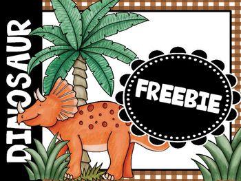 Dinosaur Bulletin Board Freebie