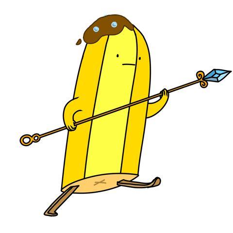 tasteslikeanya:  Banana guard!